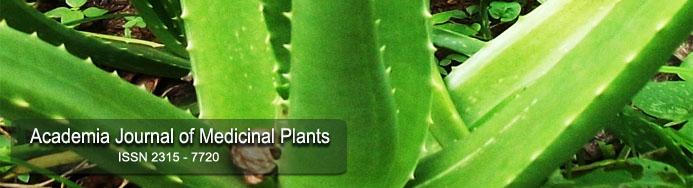 Journal of Medicinal Plants | Medicinal Plants Journal